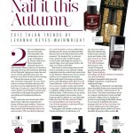 Wimbledon Life-September 2012-Article Nails