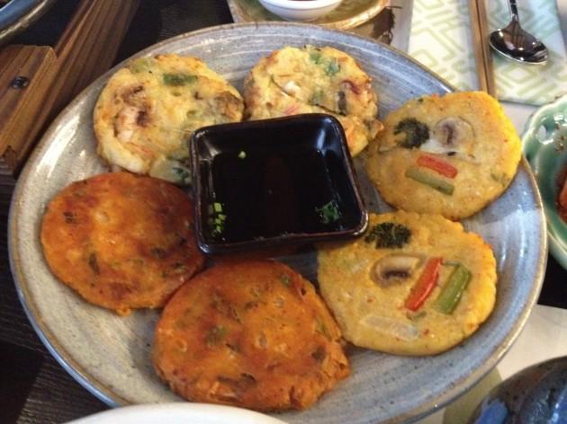 Savoury Pancakes @ Kimchee