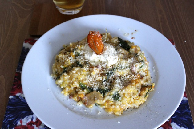 Recipe Roast Butternut Squash and Pancetta Risotto Levanah Loves