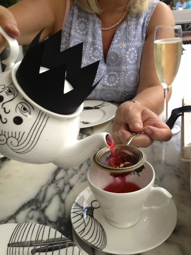 Restaurant Review, Mad Hatter's Afternoon Tea, Sanderson Hotel, Soho, London, Levanahloves